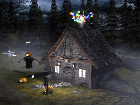 3D Halloween Screensaver