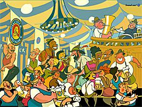 Oktoberfest Bildschirmschoner