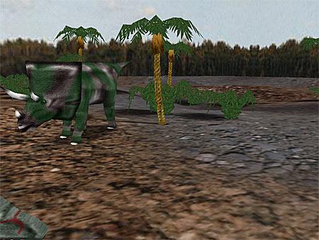 Dinosaurier 3D - Shareware Bildschirmschoner