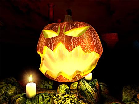 Halloween Bildschirmschoner