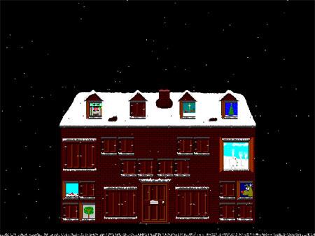 Bildschirmschoner Advent - Adventskalender